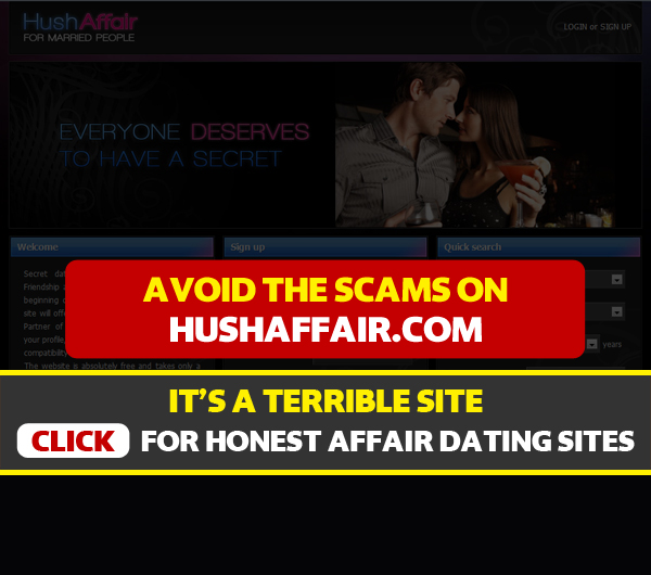 Beware of affair dating scams